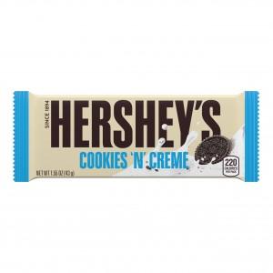 هيرشيز شوكولاته بيضاء مع الكوكيز