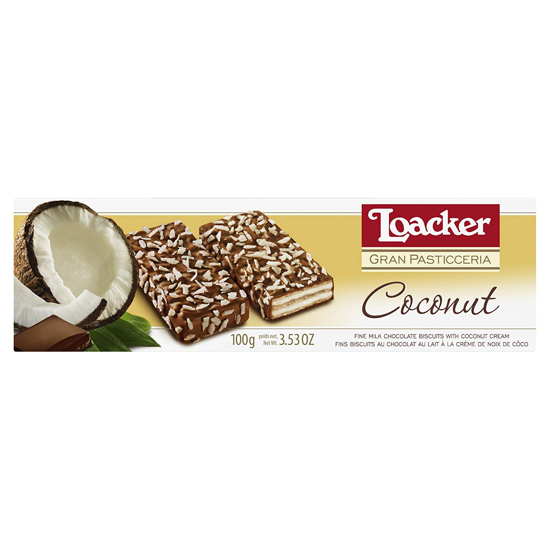 بسكويت لواكر بجوز الهند والشوكولاته 100 غرام بالعافيه