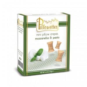 ويفر بيلوتس بالجبن الموتزاريلا والبيستو
