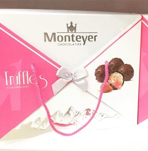 شوكولاته مونتيير مع نكهة الفراولة