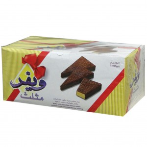ويفر مثلث بسكويت بالشوكولاته
